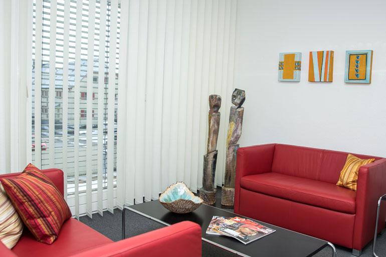 Wartezimmer Dr. Loher in Ludwigshafen am Bodensee
